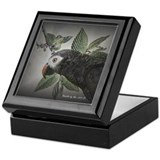 Timneh African Grey Keepsake Box
