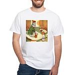 ALICE & THE CATERPILLAR White T-Shirt