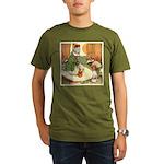 ALICE & THE CATERPILLAR Organic Men's T-Shirt (dar