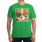 ALICE & THE CATERPILLAR Men's Fitted T-Shirt (dark