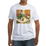ALICE & THE CATERPILLAR Fitted T-Shirt