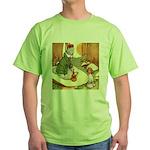 ALICE & THE CATERPILLAR Green T-Shirt