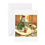 ALICE & THE CATERPILLAR Greeting Cards (Pk of 10)