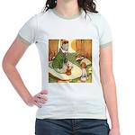 ALICE & THE CATERPILLAR Jr. Ringer T-Shirt