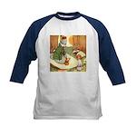 ALICE & THE CATERPILLAR Kids Baseball Jersey