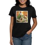 ALICE & THE CATERPILLAR Women's Dark T-Shirt