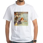 ALICE & THE CAUCUS RACE White T-Shirt
