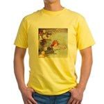 ALICE & THE CAUCUS RACE Yellow T-Shirt