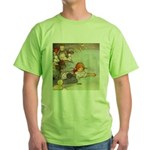 ALICE & THE CAUCUS RACE Green T-Shirt