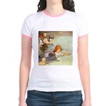 ALICE & THE CAUCUS RACE Jr. Ringer T-Shirt