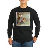 ALICE & THE CAUCUS RACE Long Sleeve Dark T-Shirt