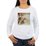 ALICE & THE CAUCUS RACE Women's Long Sleeve T-Shir