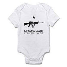Molon Labe - Come and Take It Infant Bodysuit