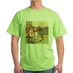 ALICE & THE CHESHIRE CAT Green T-Shirt