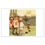 ALICE & THE CHESHIRE CAT Large Poster