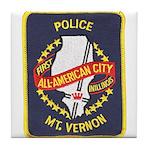 Mount Vernon Police Tile Coaster
