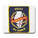 Mount Vernon Police Mousepad