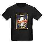 Mount Vernon Police Kids Dark T-Shirt