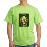 Mount Vernon Police Green T-Shirt