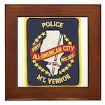 Mount Vernon Police Framed Tile