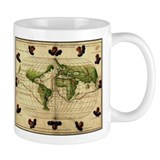 """1544 World Map"" Small Mug"