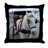 Mystic Horse Throw Pillow