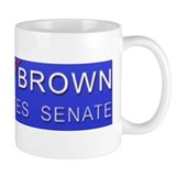 Cute Scott brown Small Mugs