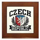 Czech Republic Framed Tile