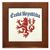 Ceska Republika Framed Tile
