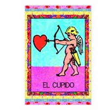 Vintage Loteria Cupid Postcards (Package of 8)