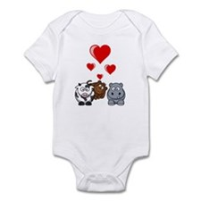 Valentine Beasts 2 Infant Bodysuit