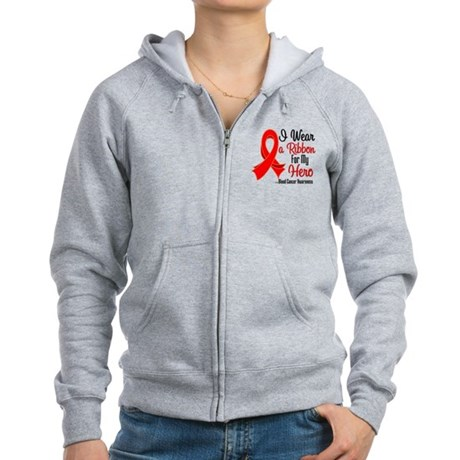 Hero - Blood Cancer Women's Zip Hoodie