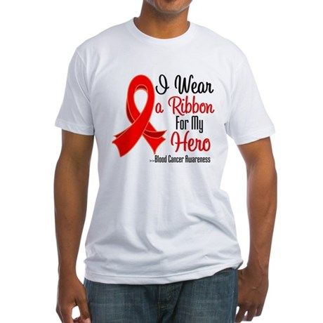 Hero - Blood Cancer Fitted T-Shirt