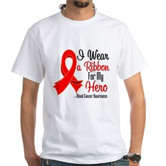 Hero - Blood Cancer White T-Shirt