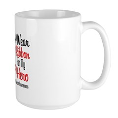 Hero - Blood Cancer Large Mug