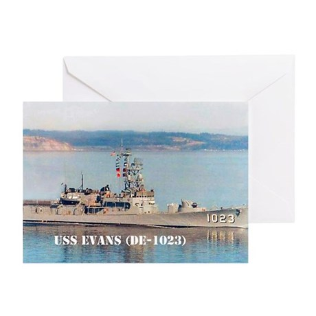 USS EVANS Greeting Cards (Pk of 20)