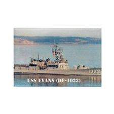 USS EVANS Rectangle Magnet (10 pack)