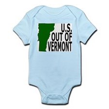 U.S. OUT OF VERMONT Infant Creeper