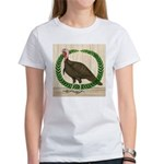 Turkey and Wreath Women's T-Shirt