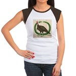 Turkey and Wreath Women's Cap Sleeve T-Shirt
