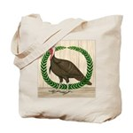 Turkey and Wreath Tote Bag