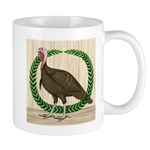 Turkey and Wreath Mug