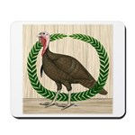 Turkey and Wreath Mousepad