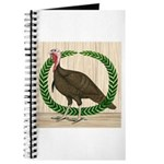 Turkey and Wreath Journal