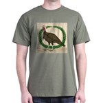 Turkey and Wreath Dark T-Shirt