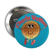 """Charlie Waffles 2.25"""" Button"""