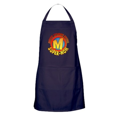 Super-Mom Apron (dark)