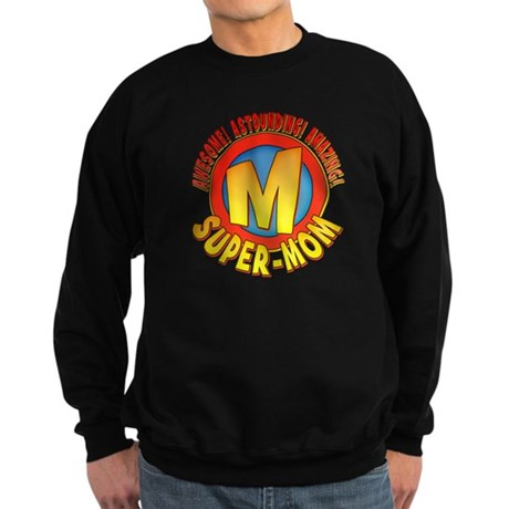 Super-Mom Sweatshirt (dark)