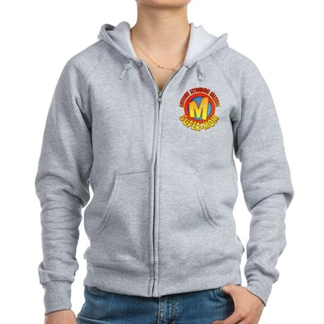 Super-Mom Women's Zip Hoodie