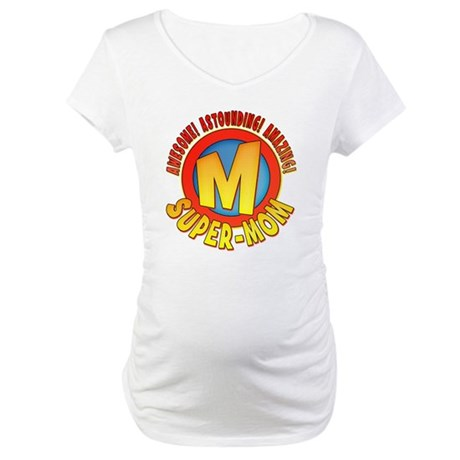 Super-Mom Maternity T-Shirt